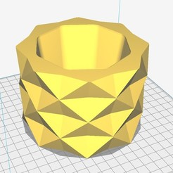 Download STL file geometric pot • 3D print template, Nicolaspelayo1