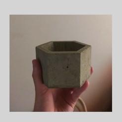 Download STL file CEMENT POT MOULD - POT MOULD • 3D print design, Nicolaspelayo1