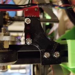 Download free STL file Somewhat Poorly designed endstop holder • 3D printer template, mwgalindo