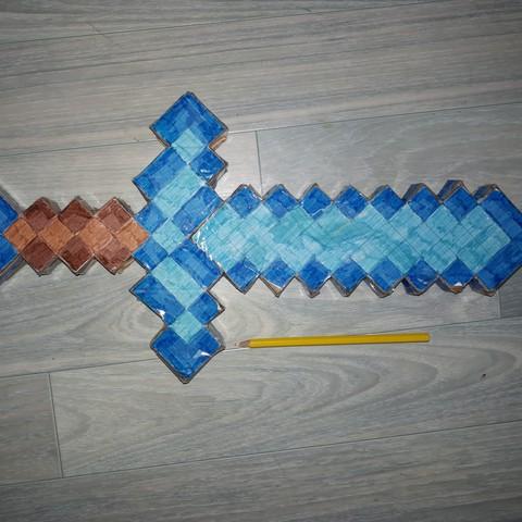 Imprimir en 3D Espada de tamaño natural., Aozxx