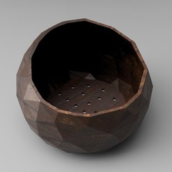 Download 3D print files Low Poly Succulent/Bonsai Pot (2 versions), simonprints