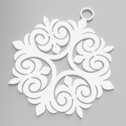ornament1.png Download STL file Christmas Tree Ornament • 3D printing model, simonprints