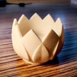 3d printer files Leaf Crown Pot, simonprints