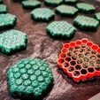 Download free STL files Honeycomb Cookie Cutter, simonprints