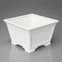 Download 3D printing models Bonsai Pot - Cascade - Semi-cascade 3d model, simonprints