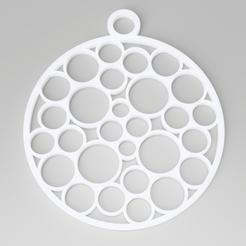bubble-decoration.png Download STL file Christmas Tree Bubbles Decoration • 3D printable template, simonprints