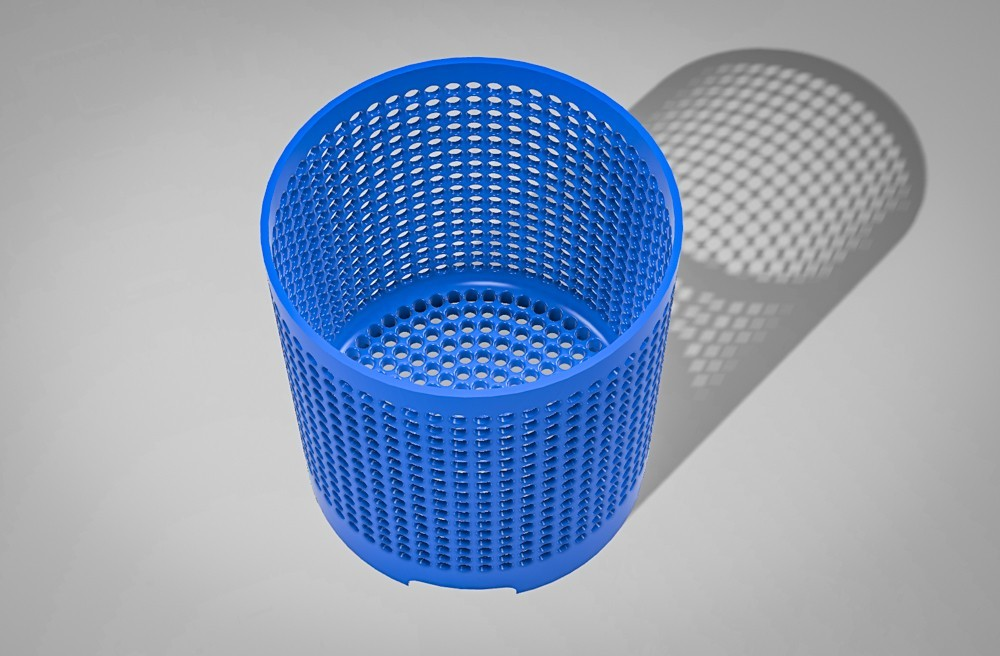 2f33f70255d0d51ba5c96b635da63322_display_large.jpg Download STL file Air Root Pruning Pot For Seedlings (2 versions) • 3D print object, simonprints