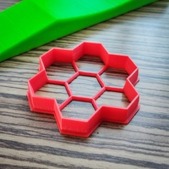stl file Honeycomb Cookie Cutter, simonprints