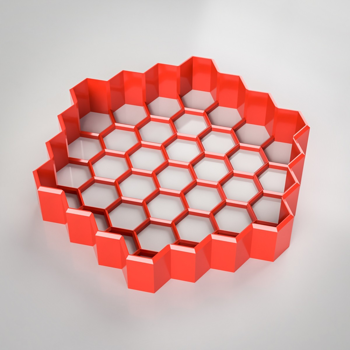 hexagonal-cookie-cutter.jpg Download STL file Honeycomb Cookie Cutter • Design to 3D print, simonprints