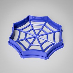 Download 3D printer files Spider Web Cookie Cutter, simonprints