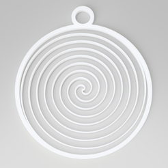 fermat-spiral.png Download STL file Christmas Tree Fermat Spiral Decoration • 3D printable design, simonprints