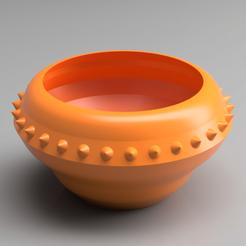 Descargar modelo 3D Suculenta olla de bonsái con remaches, simonprints