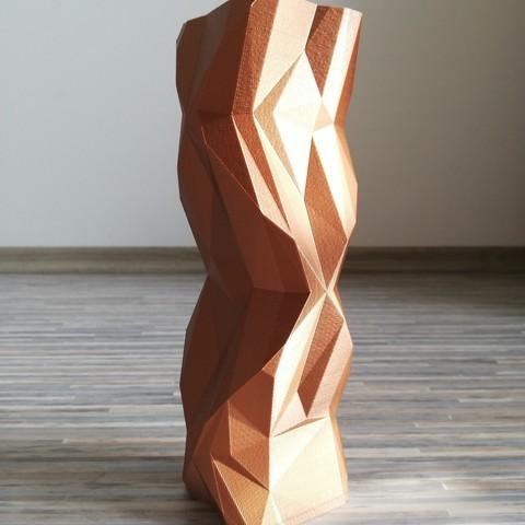 Download STL KUBYS design vase, Horakovic3D