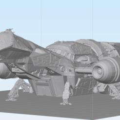Descargar modelo 3D Serenity, nave de la clase Firefly, abntroop1