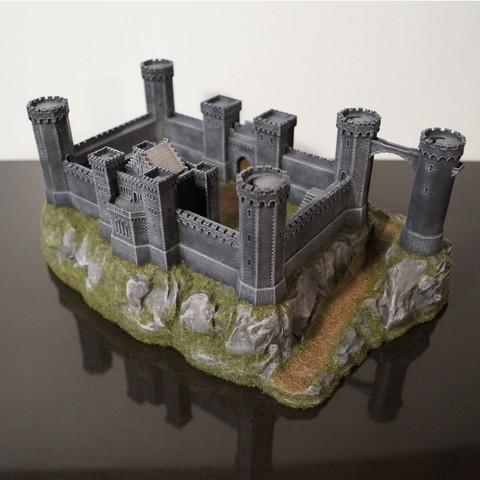 STL Castillo de los Cruzados, jansentee3d