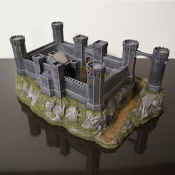 Download STL file Crusader Castle, jansentee3d