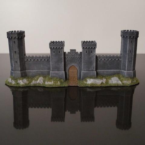 Download free 3D printer model Crusader Castle Gate, jansentee3d
