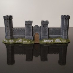 Download free 3D printer model Crusader Castle Gate, jansentee3d