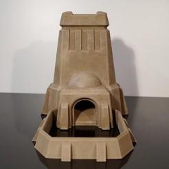 3D print model Desert Dice Tower, jansentee3d