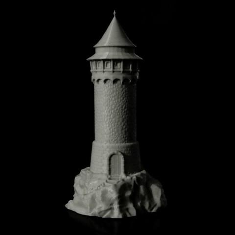 Free 3D printer files Dragon Tower, jansentee3d