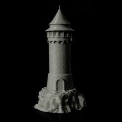 Free 3D printer files Dragon Tower, jansentee3d
