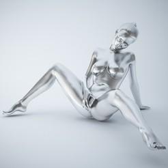 3D printer models SEXY POSE WOMAN 005, XXY2018