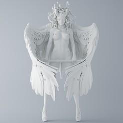 Download 3D printer designs Devil and Angel Medusa, XXY2018