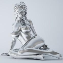 3D print model Sexy cartoon girl, XXY2018