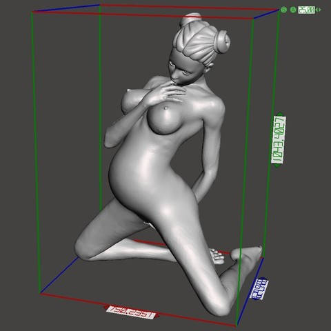 Sexy pregnant woman preview 008.jpg Download STL file Sexy pregnant woman • 3D printable object, XXY2018