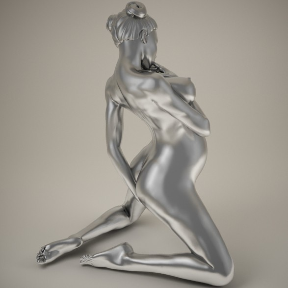 Sexy pregnant woman preview 003.jpg Download STL file Sexy pregnant woman • 3D printable object, XXY2018