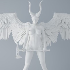 Download 3D printer files Angel and devil, XXY2018