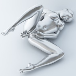 3D printing model SEXY POSE WOMAN 009, XXY2018