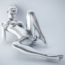 3D printing model Sexy pose woman 001, XXY2018