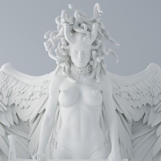 Impresiones 3D Medusa, XXY2018