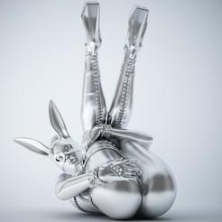 3D printing model Sexy bunny girl, XXY2018
