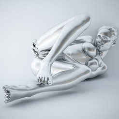 3D print files SEXY POSE WOMAN 004, XXY2018
