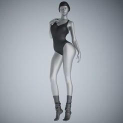 3D printer files Swimsuit Girl 001, XXY2018