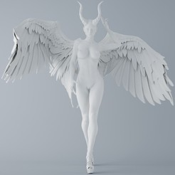 Download 3D model Devil and angel 002, XXY2018