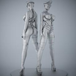 Archivos 3D Decoración de esculturas sexy, XXY2018