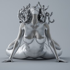 Download 3D model Sexy Medusa, XXY2018