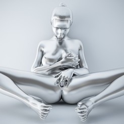 3D print model SEXY POSE WOMAN 003, XXY2018