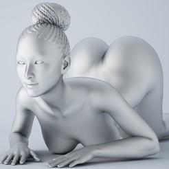Imprimir en 3D Niña africana 001, XXY2018