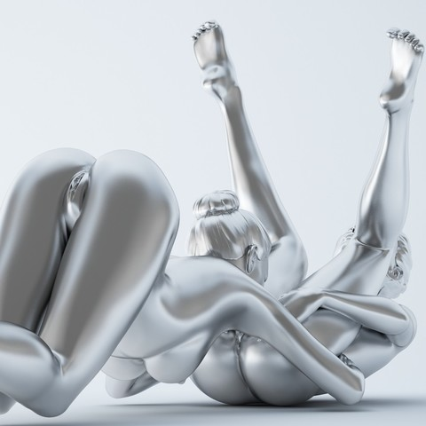3D printing model SEXY POSE WOMAN 010, XXY2018