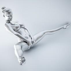 3D printer files SEXY POSE WOMAN 002, XXY2018