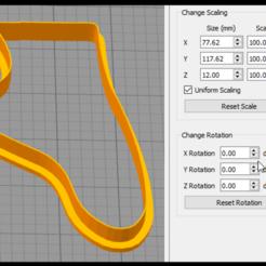 Descargar modelo 3D Cortador de galletas de zapatos de ballet, coilheaddesigns
