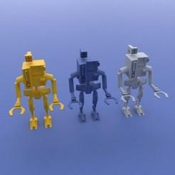 Descargar modelos 3D Robot de transporte de mercancías Figurine, Taccodesign3d