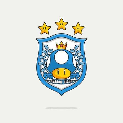 STL Logo de foot champignon, Babynavy