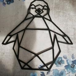 01_00a62_AiDh158ajR5YaRwf4gsJYSqW.jpeg Télécharger fichier STL Pingouin Geometric • Plan pour impression 3D, Babynavy