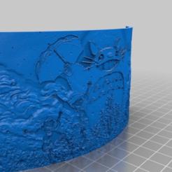 Télécharger fichier STL gratuit Lithophane Totoro • Modèle à imprimer en 3D, Babynavy