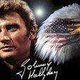 Johnny 2.jpg Télécharger fichier STL Lithophane + Support Johnny Hallyday Aigle + Signature • Modèle pour imprimante 3D, Babynavy